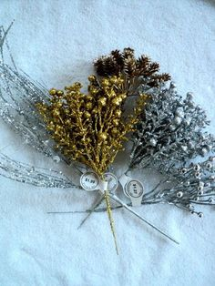 Sparkly Gold and Silver Artificial Filler by DocksideDesignsEtc, $5.75