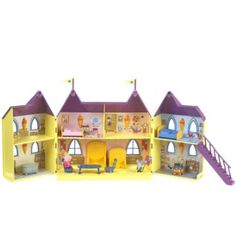 Peppa Pig Princess Peppa's Palace - Toys R Us - Britain's greatest toy store Peppa Pig Jouet, Peluche Peppa Pig, Image Peppa Pig, Realistic Baby Dolls, Preschool Toys, Toys R Us, Toys For Girls, Girl Toys, Toy Store