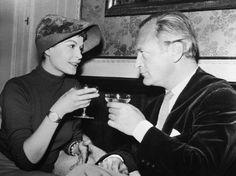 Curd Jürgens - Eva Bartok and Curd Jurgens
