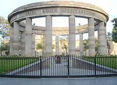 Guadalajara, Mexico   The Rotunda of Illustrious Jalisco Men and Women