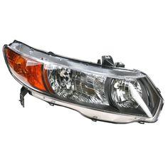 06-08 Honda Civic 4 Door Sedan Headlight Headlamp Passenger Side Right RH #AftermarketReplacement