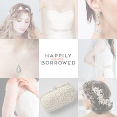 Are you one accessory away from the perfect bridal look? Just #KeepCalmAndBorrowOn with Happily Ever Borrowed!  https://www.happilyeverborrowed.com/