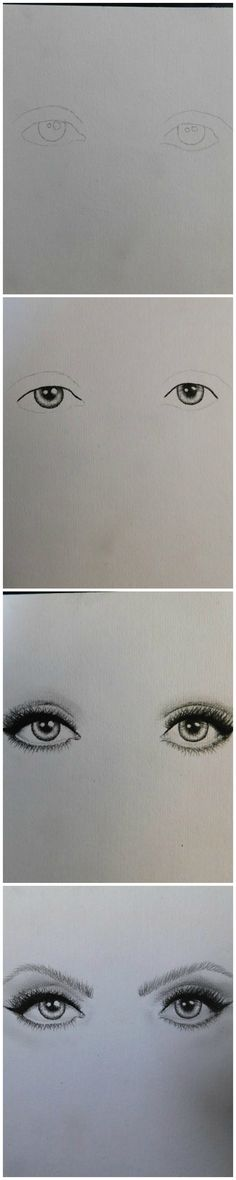 How to draw basic eyes for beginners. Start by getting a light outline with a sharp hard edge pencil (I used a 2B) Then use charcoal to fill in the pupil and dark edges around the iris. Continue to shade the lighter parts with a soft blunt pencil (again, I used an 8B) and use a fine eraser or white pencil to highlight the whiter areas of the eye.
