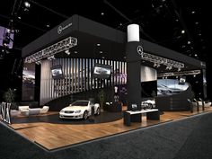 Exhibition Mercedes Benz SLK on Behance