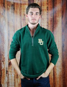 Keep yourself warm on game day while cheering on your Bears while still showing your school spirit! Whether it is tailgating, attending games, or just hanging out you will show your Baylor Bear love with this cozy jacket!