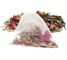 Meditative Mind Sachets - Jasmine Pyramid Bags | TEA SPOT