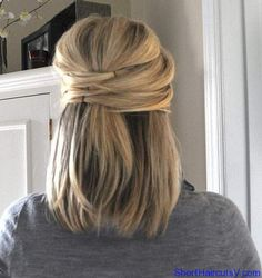 Hairstyles for work.