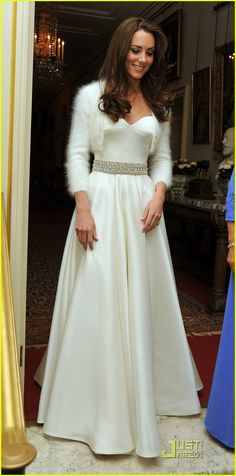 Kate Middleton Reception Dress
