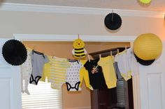 Bumble Bee Baby Shower Gender Reveal Party Ideas | Photo 14 of 30 | Catch My Party