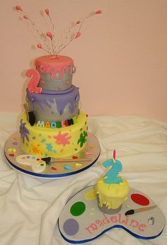 Thinking of an arts n crafts theme for miles 3rd bday this would b so perfect!