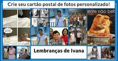 Crie seu cartão postal de fotos personalizado!