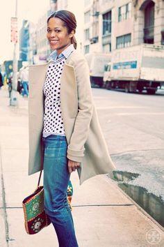 Lovely coat!