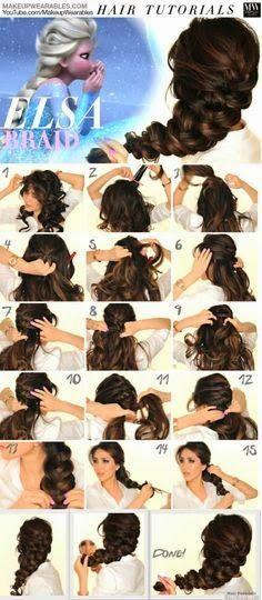 Frozen Braid http://pinterest-lovely.blogspot.ca/2014/10/neat-hair.html