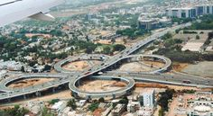 Chennai's Kathipara Junction, popularly known as 'Guindy Flyover', is the largest clover leaf shaped flyover in Asia.