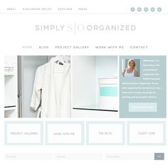 The new Simply Organized website is up and running! Hope you'll come by to take a quick tour! Love my new home!!!