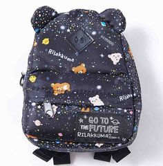 Cute galaxy Rilakkuma backpack