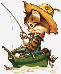 """Le régime broderie """"Fisherman"""" - Plans auteur «Kozyavochka» - Point de Croix"""
