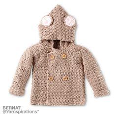 Mousie Crochet Hoodie