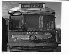 Echo Park Trolley, 1988    Photo: William Reagh.