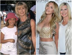 Olivia Newton-John's Daughter Chloe Lattanzi is All Grown-Up — Plus Other Celebrity Children Then and Now!
