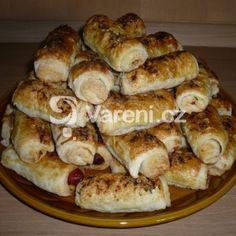 Fotografie receptu: Rychlé párky v listovém těstě