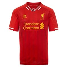 b6c480454ee 39.95 - Warrior Liverpool Home  13- 14 Replica Soccer Jersey (Red) -