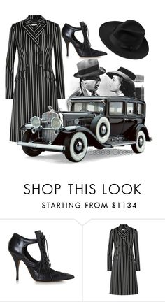 """Alexis Capone"" by essiescloset ❤ liked on Polyvore featuring Givenchy and Borsalino"