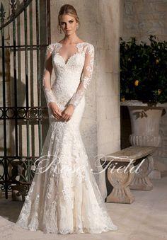 Aliexpress.com: Купить Элегантный и мода вышивка аппликация с длинным рукавом кружева свадебное платье SF787 из Надежный аппликация футболку поставщиков на Suzhou Jinchang District Suli Wedding Dess store
