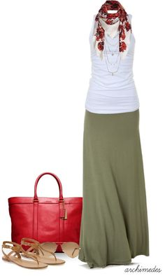 """Summer Style"" by archimedes16 on Polyvore:"