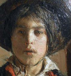 Antonio Mancini (Italian, 1852-1930)