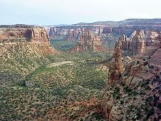 Canyon south of Window Rock, Colorado National Monument