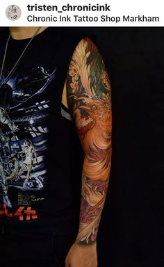 chronic ink tattoo toronto tattoo zhuge liang and lv bu from