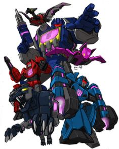 •FoC Soundwave & his minions by KevinRaganit