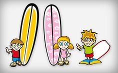 Kids Surfing | Sagres T-Shirts