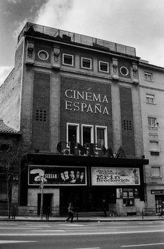 Cinema España  Fecha:  Entre 1999 y 2003  Lugar:  Madrid (Carabanchel)