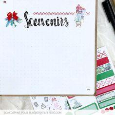 Inspiration pour ton planning ! Collection Ensemble à Noël pour embellir ton agenda.