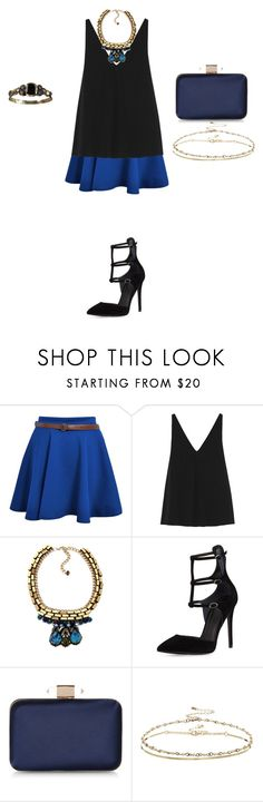 """""""Untitled #778"""" by elenekhurtsilava ❤ liked on Polyvore featuring STELLA McCARTNEY, Nocturne, Kendall + Kylie, Monsoon, ASOS, 7 For All Mankind, summerdate and rooftopbar"""
