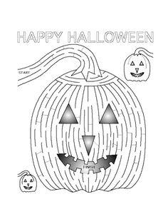 Pracovní listy Halloween | i-creative.cz - Inspirace, návody a nápady pro rodiče, učitele a pro všechny, kteří rádi tvoří. Holidays And Events, Happy Halloween, Words, Creative, Horse