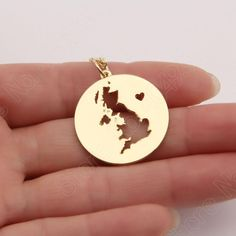 United Kingdom Necklace for Women