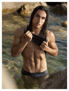 Dominic Strange (I swear, I'm not addicted to shirtless boys...it's just that, well, all the men  on pinterest don't seem to own shirts).