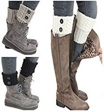 Easy DIY Boot Cuffs Make your own boot cuffs from old sweaters.