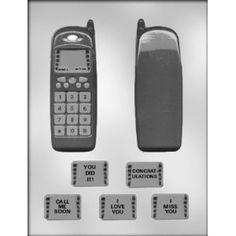90-14666 3-D Cell Phone Chocolate Candy Mold – Preegle.com