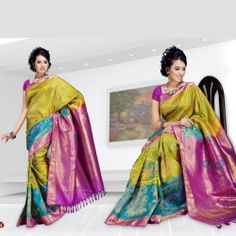 Kavyakathal Silks: Silks Sarees, Embroidery Silks, Kanchipuram Sarees, for Bhuvana From Pothis
