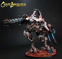 "SHOWCASE: Necron ""Riptide"" by Mr. Chaos 