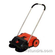 Oreck PPS21 Dual Brush Push Power Sweeper - 6.6 Gallon