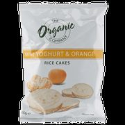 The Organic Company Mini Rice Cakes Yogurt Orange