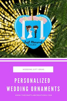 A personalized wedding gift is going to be remembered for years to come. Getting married or have some one you know getting married. Gift them a beautiful heart ornament . Personalized Family Gifts, Wedding Ornament, Heart Ornament, Just Married, Christmas Tree Ornaments, Gifts For Mom, Lab, Wedding Decorations, Handmade Gifts