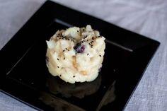 Bacalao con patatas y cebolla caramelizada Thermomix