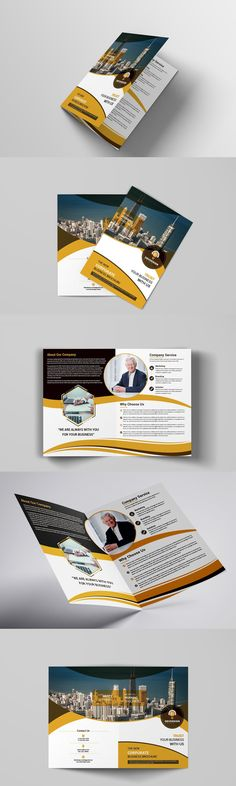 2017 Design, Report Design, Company Profile Design Templates, Corporate Brochure Design, Brochure Template, Business Fashion, Just Go, Color Change, File Size