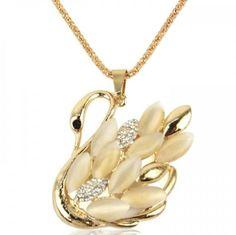 Princess Swan Necklace